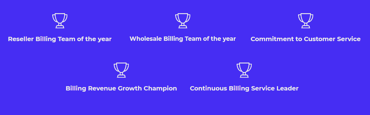billing people awards